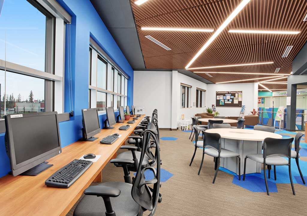 Border Paving Athletic Centre - Rec Hub computer station