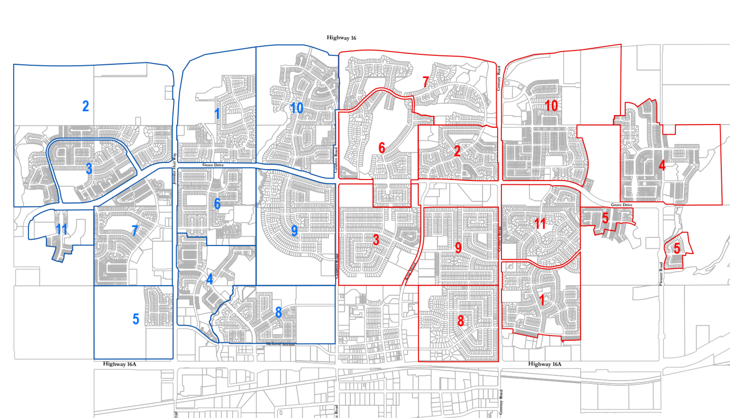 Spruce Grove Map Residential Street Snow Removal