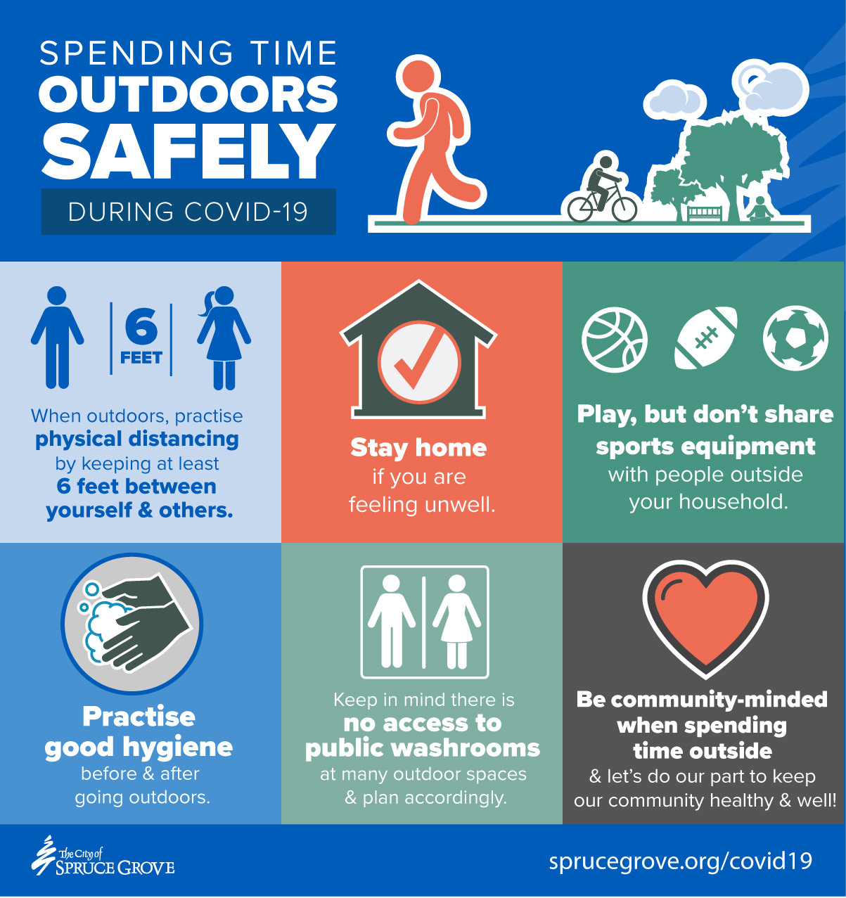 Spending time outdoors safely during COVID-19 - City of ...